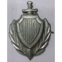 Эмблема петличная МВД защита металл