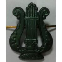 Эмблема петличная музыкальная защита металл