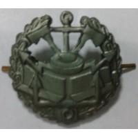 Эмблема петличная инженерные войска с венком защита металл