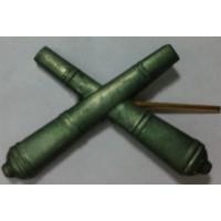Эмблема петличная РВиА защита металл