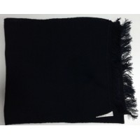 Шарф-кашне черного цвета