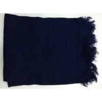 Шарф-кашне синего цвета