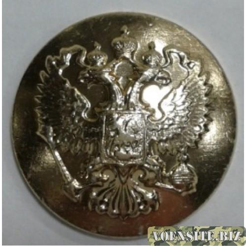 Пуговица малая металл золото без ободка