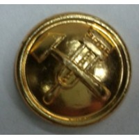Пуговица малая металл золотая инженерные войска