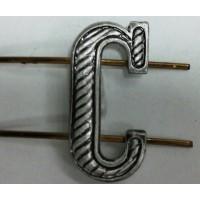 Буква С защита металл
