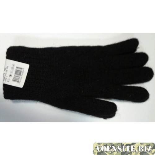 Перчатки п/ш черного цвета