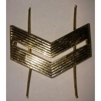 Знак различия младший сержант металл золото