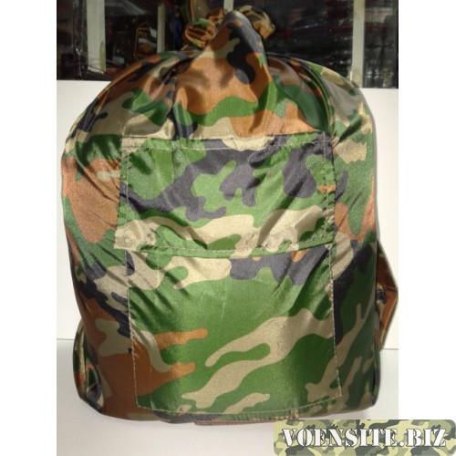 Вещевой мешок солдатский расцветка зеленый камуфляж