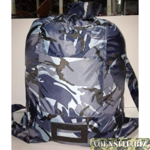 Вещевой мешок солдатский расцветка серый камуфляж