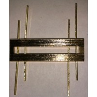 Знак различия ФССП II степени  золото металл