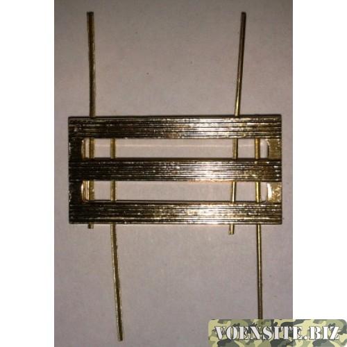 Знак различия ФССП III степени  золото металл