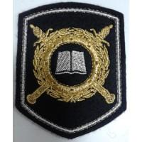 Шеврон МВД образовательные учреждения вышитый