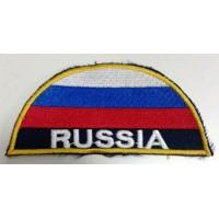 Шеврон триколор Russia вышитый
