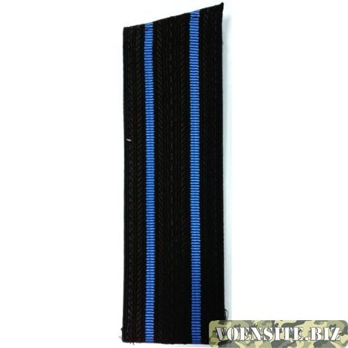 Погоны Военно-морской авиации старшего офицерского состава со скосом