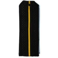 Погоны ВМФ младшего офицерского состава с желтым просветом