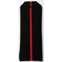 Погоны ВМФ младшего офицерского состава с красным просветом