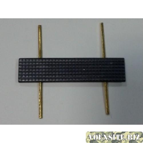 Знак различия ФСИН металл 10х45