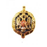 Эмблема петличная ФСБ золото полиамид