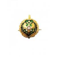 Эмблема петличная ФПС золото полиамид