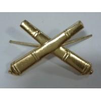 Эмблема петличная РВиА золото металл