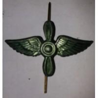 Эмблема петличная ВВС без венка защита металл