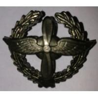 Эмблема петличная ВВС с венком защита металл