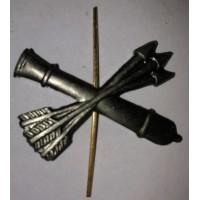 Эмблема петличная ПВО без венка защита металл