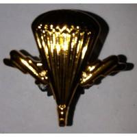 Эмблема петличная ВДВ без венка золото полиамид