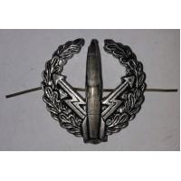 Эмблема петличная РВСН с венком защита металл