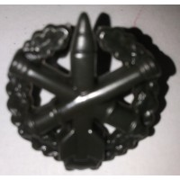Эмблема петличная РВиА с венком защита полиамид