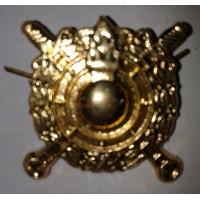Эмблема петличная Внутренние войска МВД золото металл