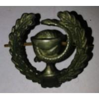 Эмблема петличная Медицинская служба с венком защита металл, правая  левая
