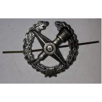 Эмблема петличная Военнотопографическая с венком защита металл