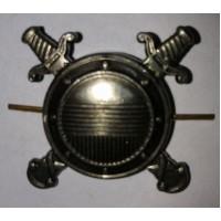 Эмблема петличная внутренняя служба МВД  без венка защита металл