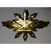Эмблема петличная Связь без венка золото металл