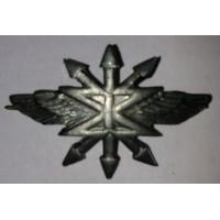 Эмблема петличная Связь без венка защита металл