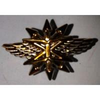Эмблема петличная Связь без венка золото полиамид