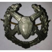 Эмблема петличная пограничные войска с венком защита металл