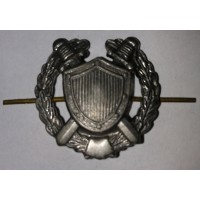 Эмблема петличная юстиции с венком защита металл