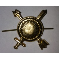Эмблема петличная РВСН без венка золото металл
