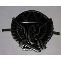 Эмблема петличная Дорожные войска с венком защита металл