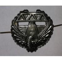 Эмблема петличная Дорожные войска без венка защита металл