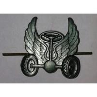 Эмблема петличная Автомобильные войска без венка защита метал