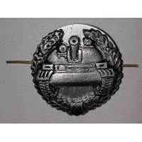 Эмблема петличная Танковые войска с венком защита металл
