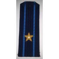 Погоны ВДВ вышитыми золотом звездами майор
