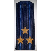 Погоны ВВС вышитыми золотом звездами полковник