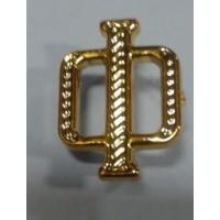 Буква Ф золото полиамид