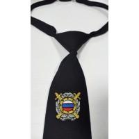 Галстук Полиции Общестенной Безопасности с вышивкой