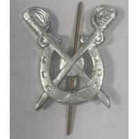 Эмблема петличная Казачья Подкова серебро металл