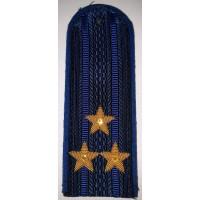 Погоны юстиции повседневные вышитые золотом звезды полковник